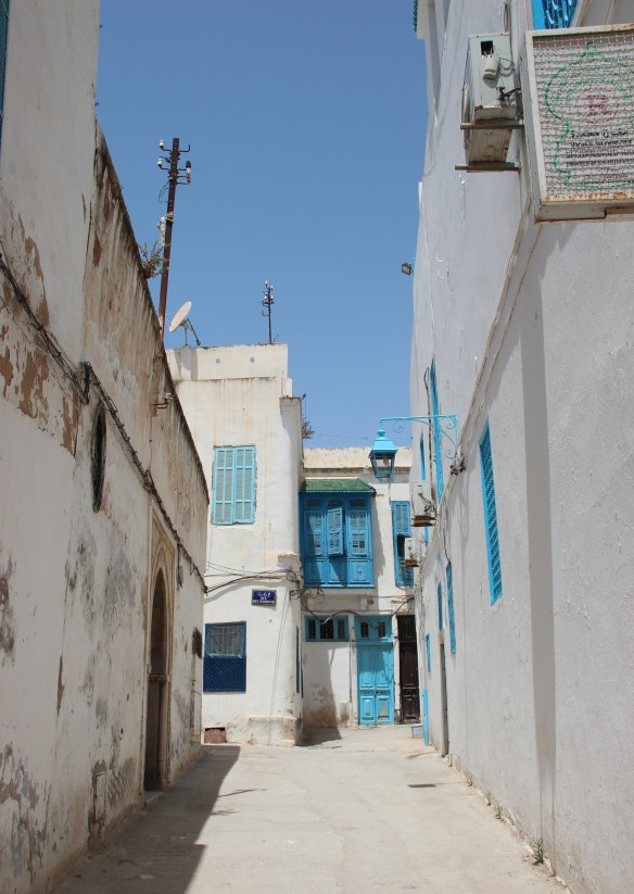 Cruise Tunis Medina Alley