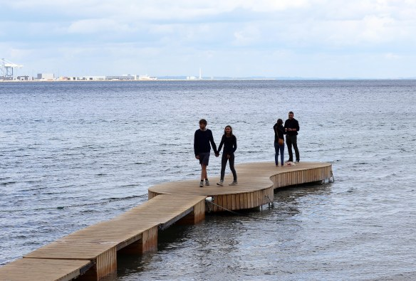 Jetty at Sculpture by the Sea photo Henrik Elstrup