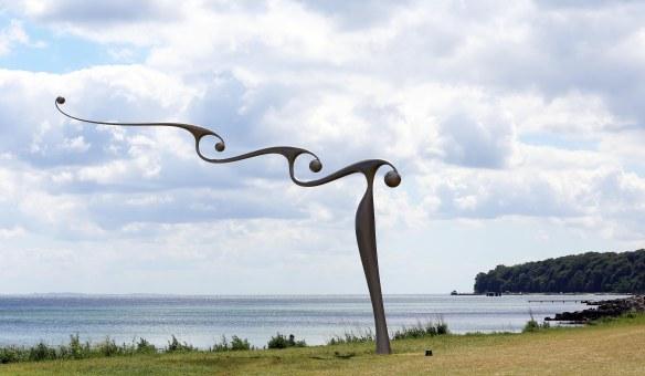 Sculpture by the sea Aarhus Snake