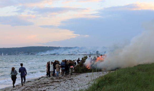 Bonfire near Aarhus Henrik Elstrup