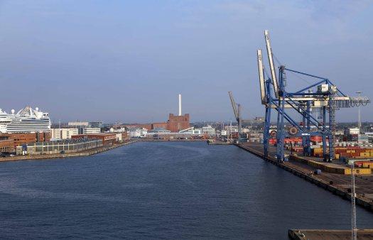 Baltic cruise kbhvn indsejling havn total plet