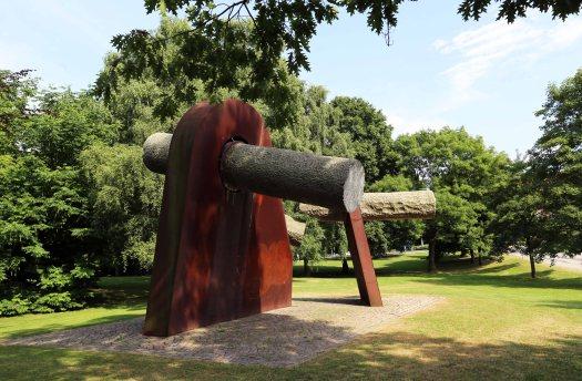 Baltic cruise park sculpture