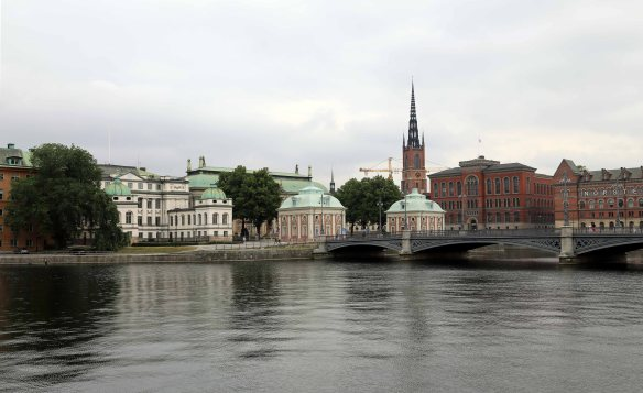 Stockholm buildings and briges