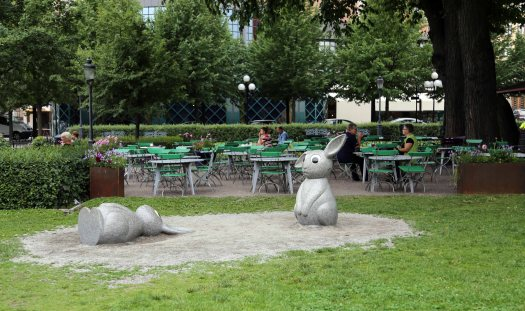 Baltic cruise stockholm sad sculpture