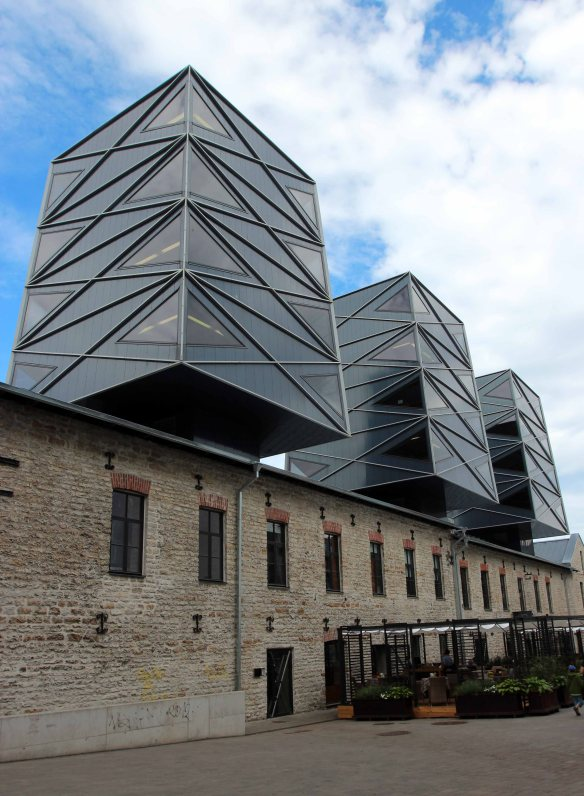 Modern fusion architecture Tallinn Estonia