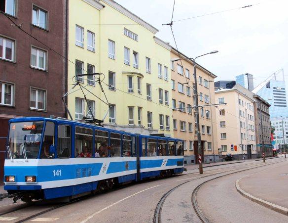 Tram Tallinn Estonia