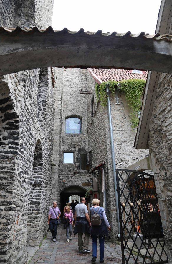 Old town Vanalinn Tallinn Estonia