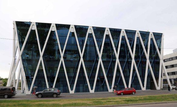 Modern architecture Tallinn Estonia Tallink building