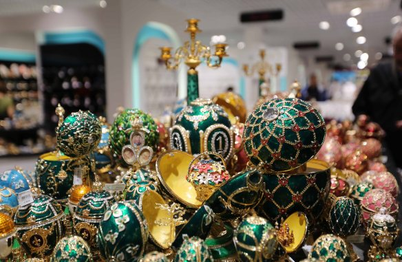 Faberge Egg St Petersburg Russia