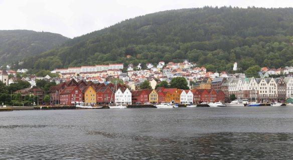 Bergen Bryggen udsigt Foto: Henrik Elstrup