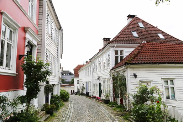 Bergen old city houses Photo: Marina Aagaard