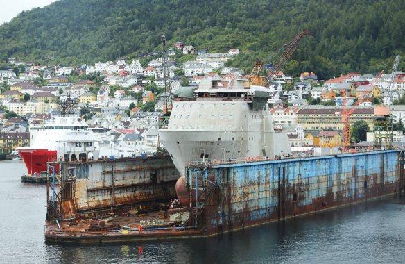 Norge Bergen havn. Foto: Marina Aagaard