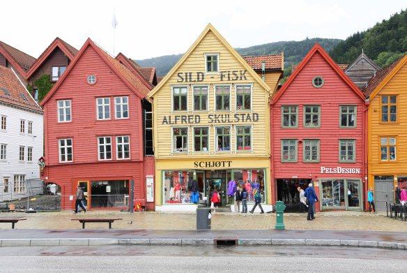 Norway Norge Bergen Bryggen Foto: Henrik Elstrup