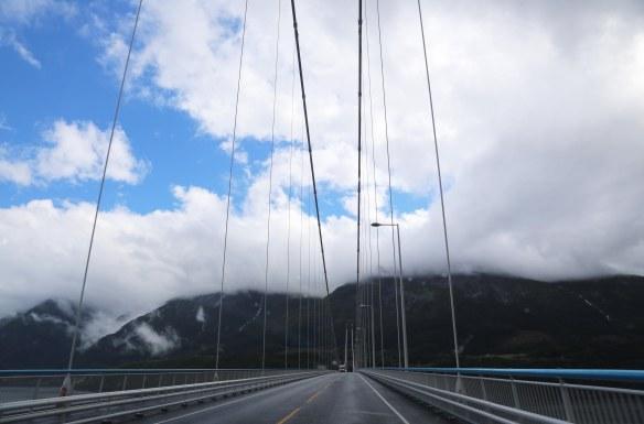 Norge Hardangerbroen tæt