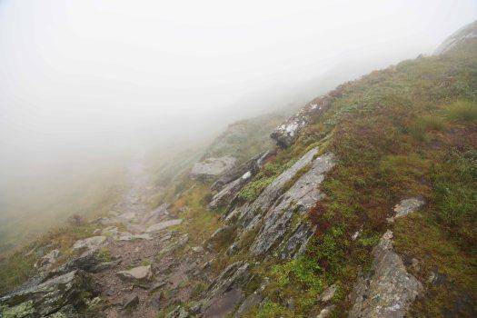 Norge Ulriken tåge sti