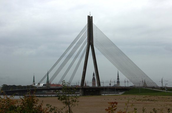 Riga Vansu bridge photo Marina Aagaard