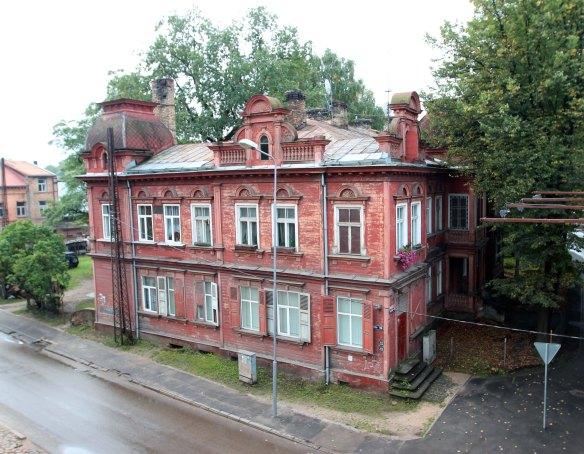 Riga træhuse UNESCO foto Henrik Elstrup
