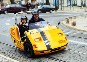 Lisboa Car Gocar tourist mobile