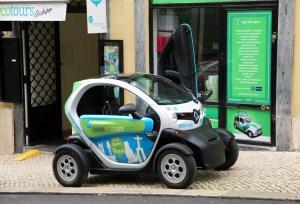 Lisboa Car Green Mini Citroen