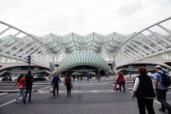 Lisboa Gare do Oriente Station Santiago Calatrava