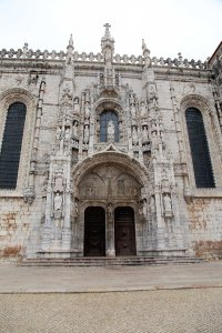 Lisboa Mosteiro dos Jeronimos door