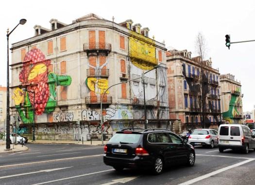 Lisboa mural graffiti I