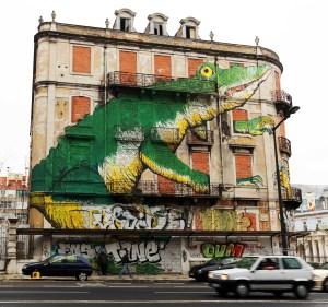Lisboa mural graffiti IV