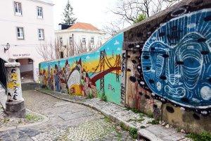 Lisboa murals graffiti and tags