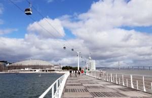 Lisboard boardwalk