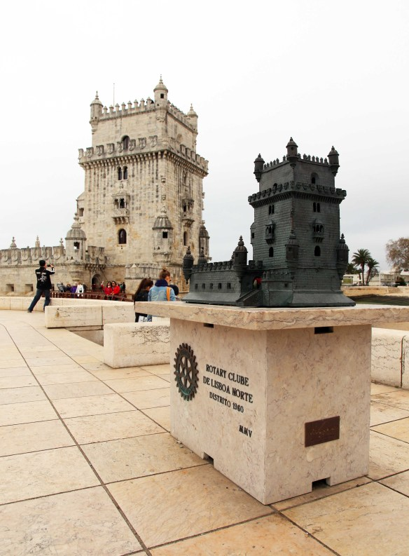 The Belém Tower Lisboa Portugal