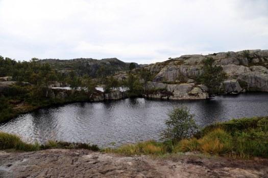 Preikestolen lake Norway foto Marina Aagaard