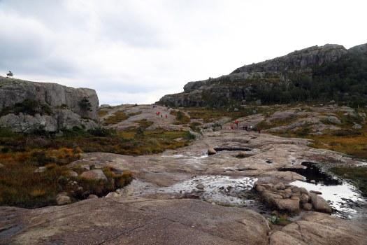 Preikestolen plateau Norway foto Marina Aagaard