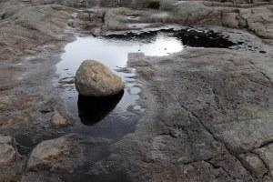 P Sten i vand