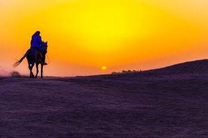Tunesian Sahara rider Henrik Elstrup