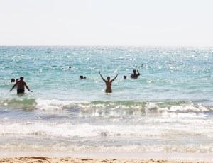 Tunesien Marina i vand 414X2345