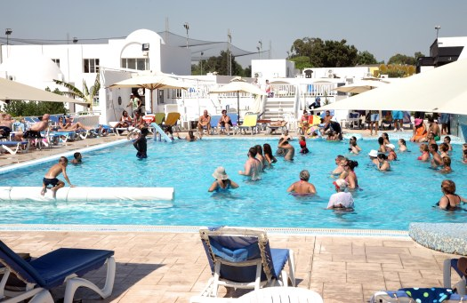 Tunesien Hammamet Samira Club vandaerobic