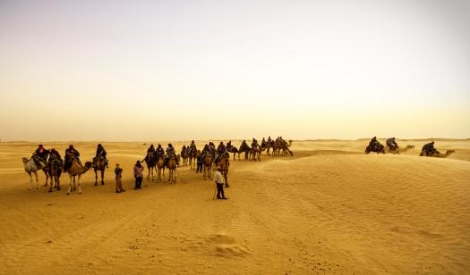 Tunesien Sahara kameltur Marina Aagaard fitness blog
