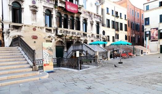 Venedig fire broer side om side foto Marina Aagaard