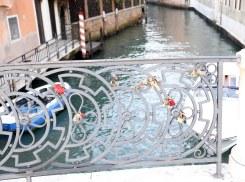 Venedig bro og hængelåse