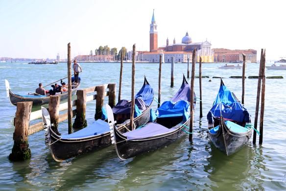 Venedig gondoler Venice gondols photo Marina Aagaard