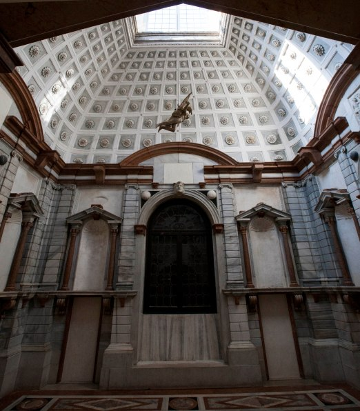 Venedig Palazzo rum med engel