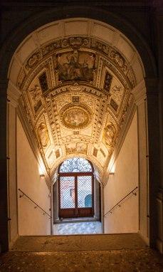 Venedig Palazzo trappe og loft