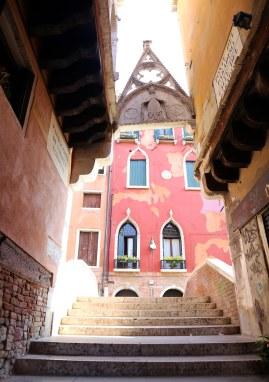Venedig trappe og portal foto Marina Aagaard