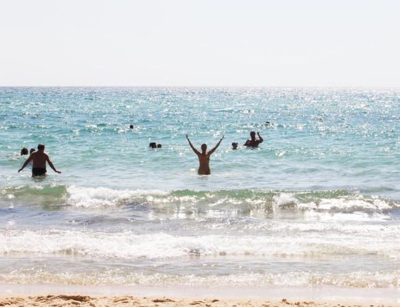 Tunesien Marina i vand w414X2345