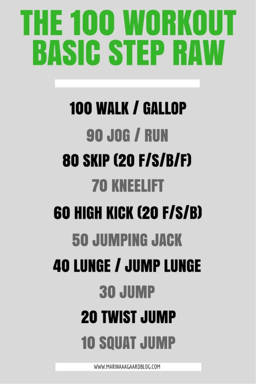 the_100_workout_raw